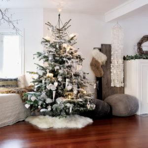Рождественский декор квартиры